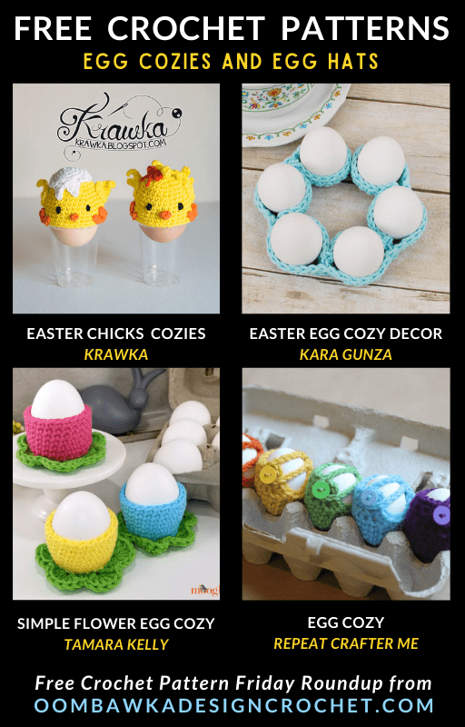 Egg Cozies and Egg Hats - Free Pattern Friday