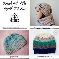 March Hat of the Month CAL 2021