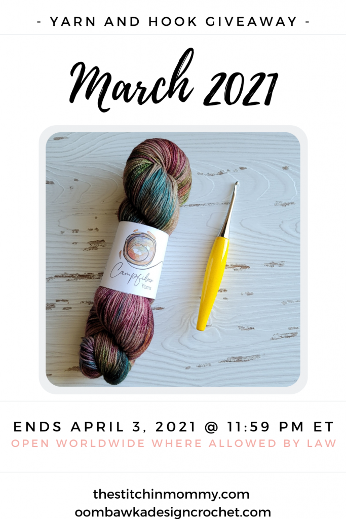 March 2021 Yarn and Hook Giveaway