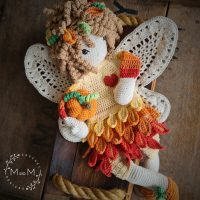 Melly Teddy Ragdoll Harvest Fairy - mandmcrochetdesigns