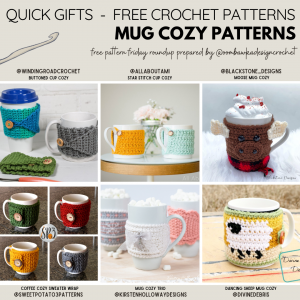 Mug Cozy Patterns Free Pattern Friday