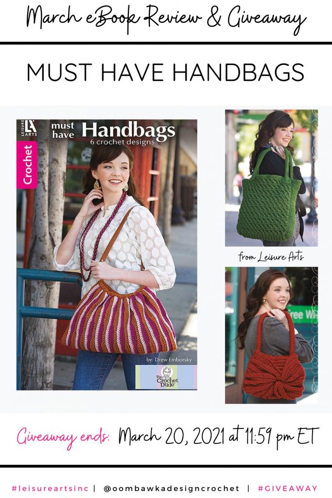 Must Have Handbags eBook Leisure Arts PIN