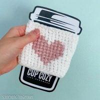 My Heart Coffee Sleeve - Free Pattern Friday