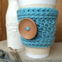 Peek A Boo Cup Sleeve - Free Pattern Friday