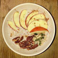 Porridge with Apple - Link Party 388