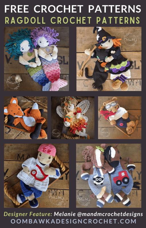Ragdoll Crochet Patterns - Free Pattern Friday