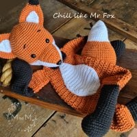 Ragdoll Mr Fox- mandmcrochetdesigns