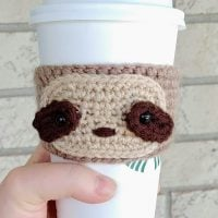 Sloth Cup Cozy - Free Pattern Friday