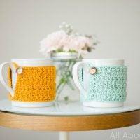Star Stitch Cup Cozy - Free Pattern Friday