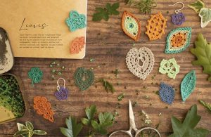 Leaves - 100 Micro Crochet Motifs - David&Charles - Book Review