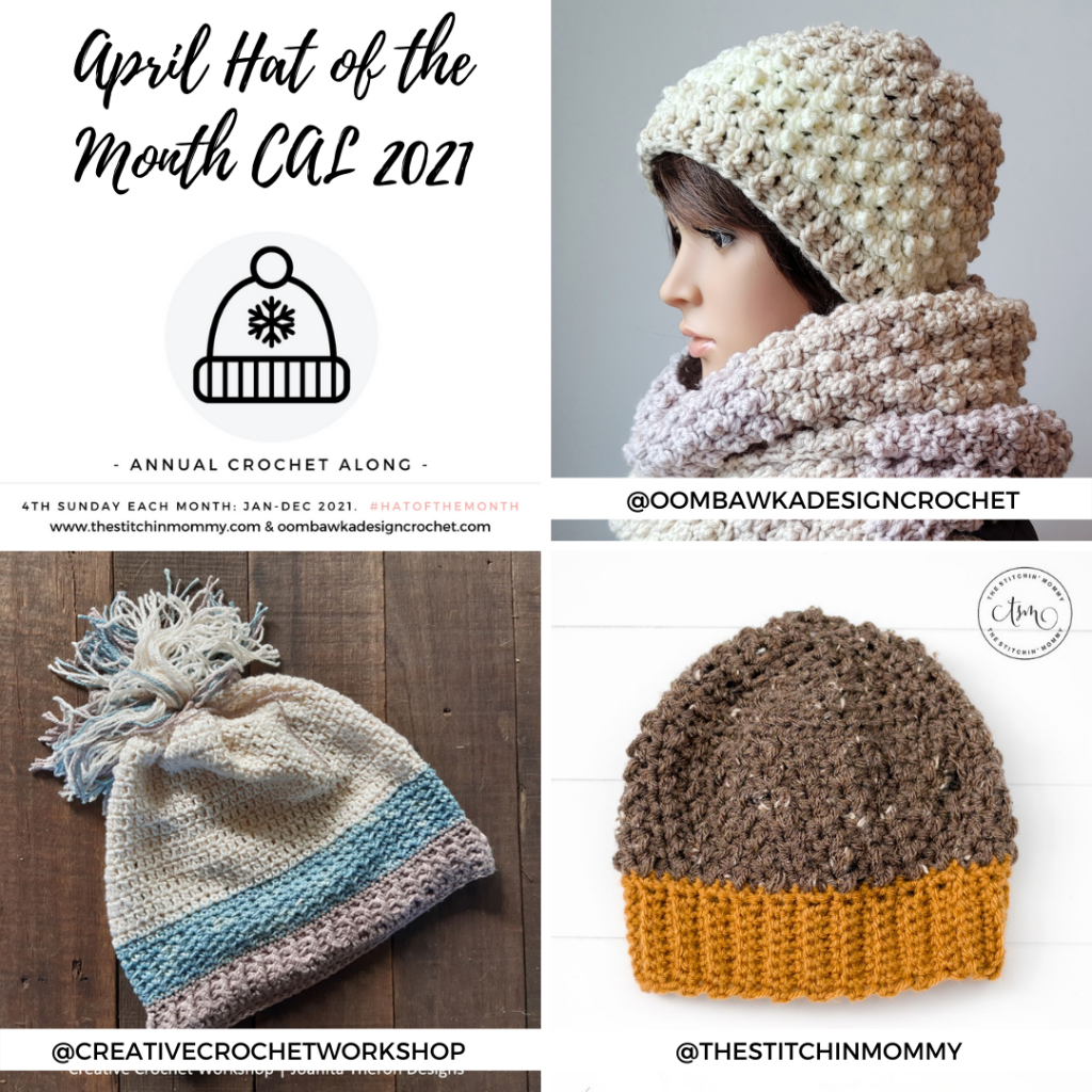 April Hat of the Month CAL 2021 1080x1080