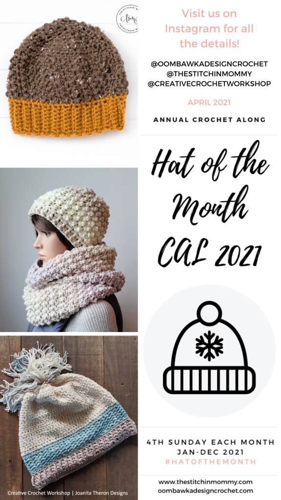 April Hat of the Month CAL 2021 Stories