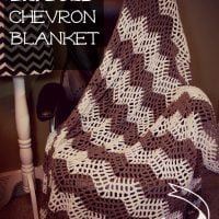 Big-Bold-Chevron-Blanket - Free Pattern Friday