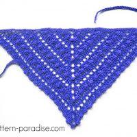 Bobble Kerchief - Free Pattern Friday