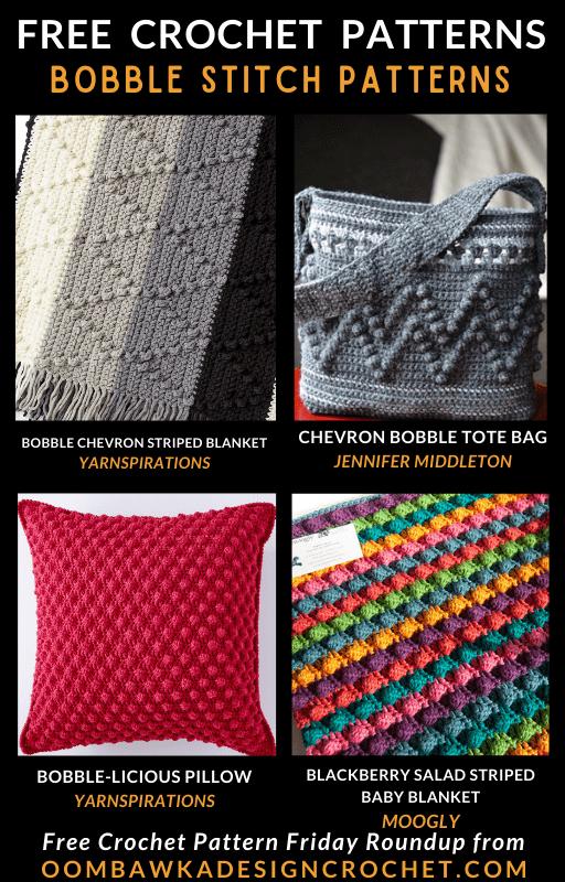 Bobble Stitch Crochet Patterns Free Pattern Friday