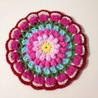 Bobbly Flower Mandala - Free Pattern Friday