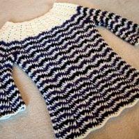 Chevron 3 Season Sweater - Free Pattern Friday
