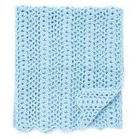 Cluster Waves Blanket - Free Pattern Friday