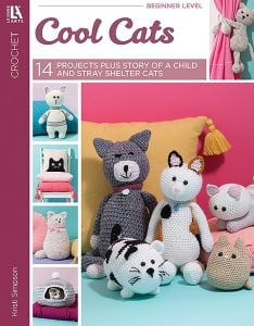 Cool Cats - Leisure Arts - Book Review