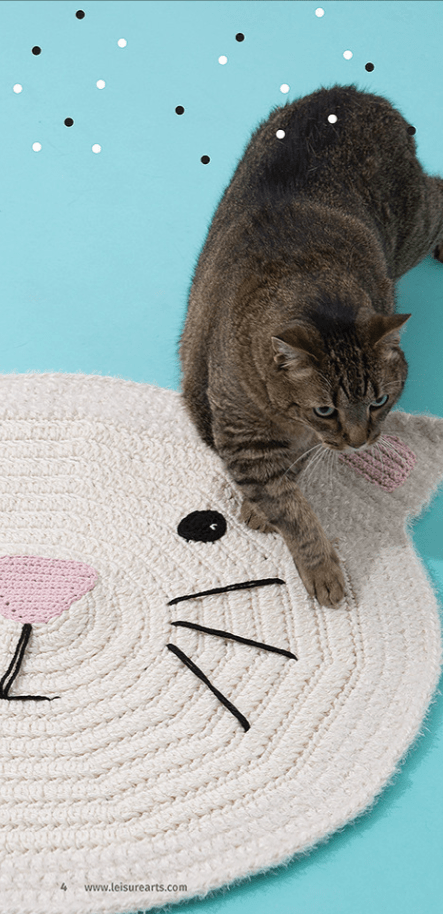 Cool Cats - Leisure Arts - Crochet eBook Review