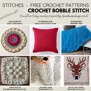 Crochet Bobble Stitch Patterns Free Pattern Friday