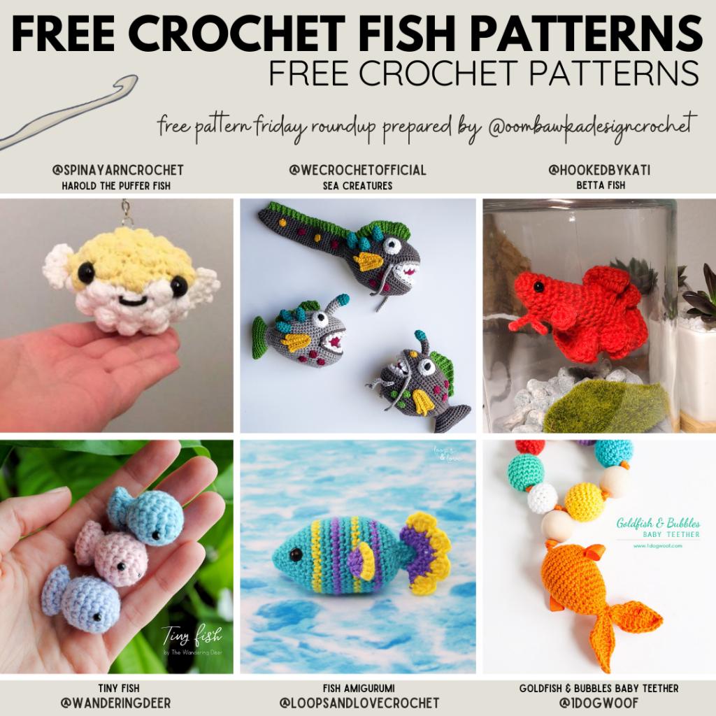 Crochet Fish Patterns Free Pattern Friday