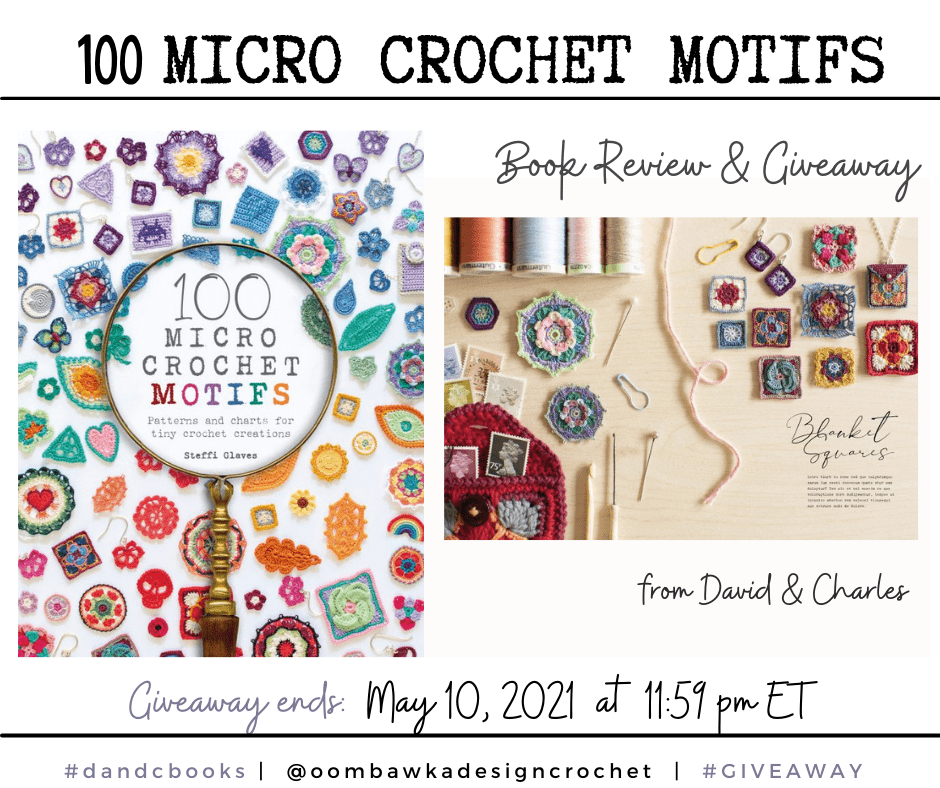 100 Micro Crochet Motifs - David and Charles Review and Book Giveaway Instagram