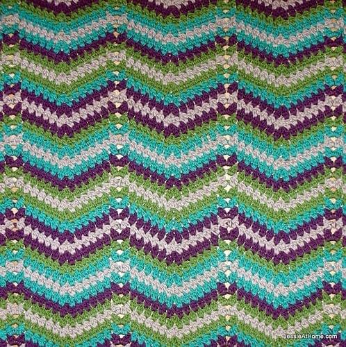 Faded Ripple Blanket - Free Pattern Friday