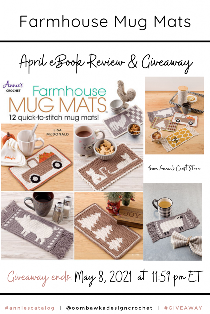 Farmhouse Mug Mat Crochet Patterns