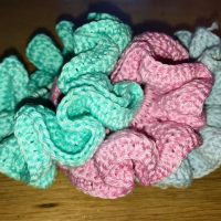 Fast and Easy Crochet Scrunchies Pattern - Link Party 396