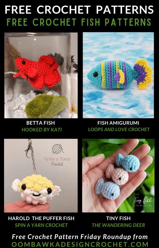 Crochet Fish Patterns - Free Pattern Friday