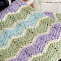 Ripple Baby Blanket - Free Pattern Friday