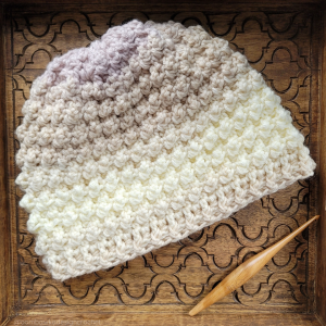 Internal Chaos Hat - April 2021 - @oombawkadesigncrochet
