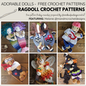 RAGDOLL CROCHET PATTERNS Free Pattern Friday
