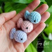 Tiny Fish - Free Pattern Friday