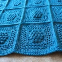 Winterberry Throw Free Pattern Friday