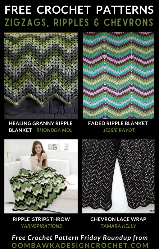ZIGZAG Crochet Patterns Free Pattern Friday