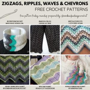 ZIGZAG Patterns Free Pattern Friday