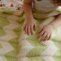 Zigzag Baby Blanket - Free Pattern Friday