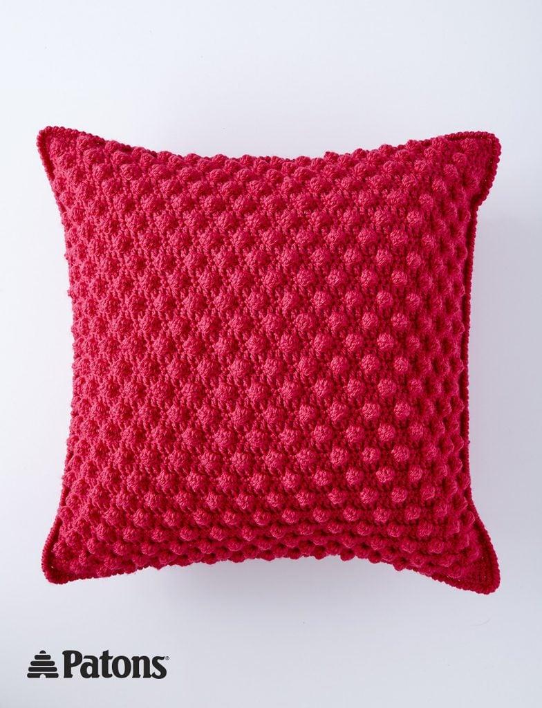 Bobble-licious Pillow Pattern - Free Pattern Friday