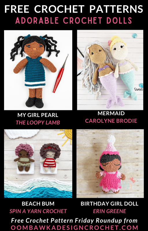 Adorable Crochet Doll Patterns Free Pattern Friday