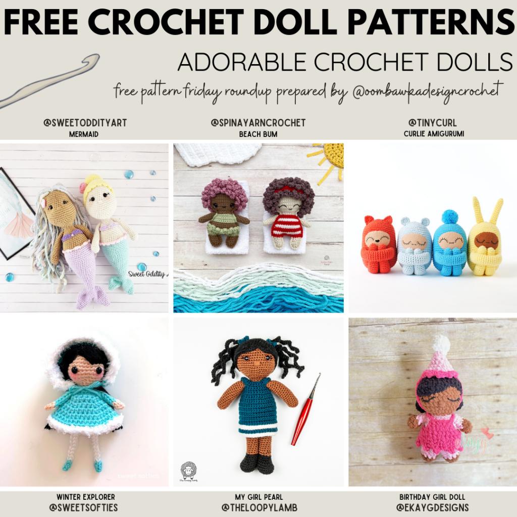 Adorable Crochet Dolls Free Crochet Patterns