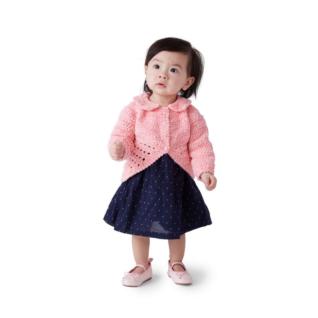 Baby Party Cardigan - Free Pattern Friday