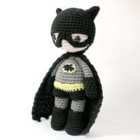 Batman Amigurumi - Free Pattern Friday
