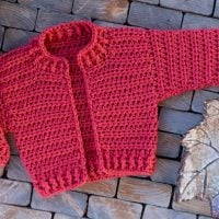 Bomber Cardigan for Babies