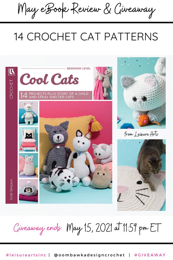 Cool Cats May eBook Leisure Arts PIN