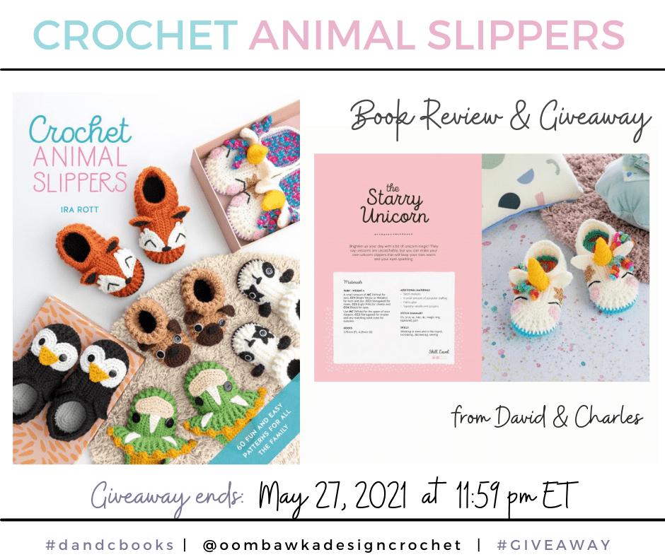 60 Crochet Animal Slippers Patterns