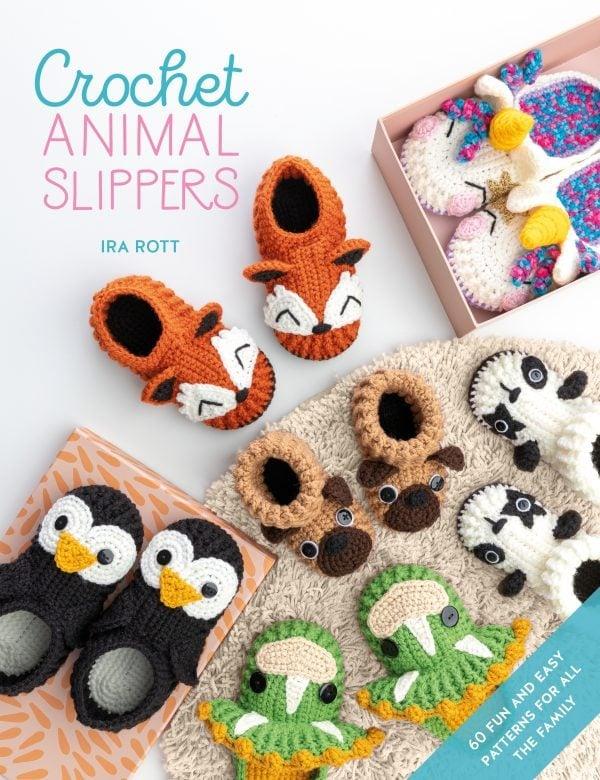 Crochet Animal Slippers - Ira Rott - David and Charles Book Review