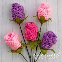 Crochet Origami Rose - Free Pattern Friday
