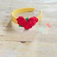 Crochet Roses Headband - Free Pattern Friday